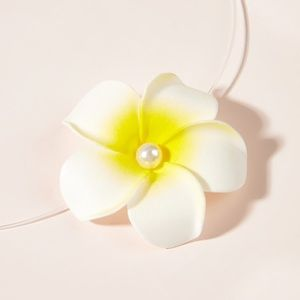 🎀 Because plumeria floating necklace 🎀